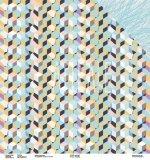 Двухсторонняя бумага «Кубизм»,  ARTGEO01